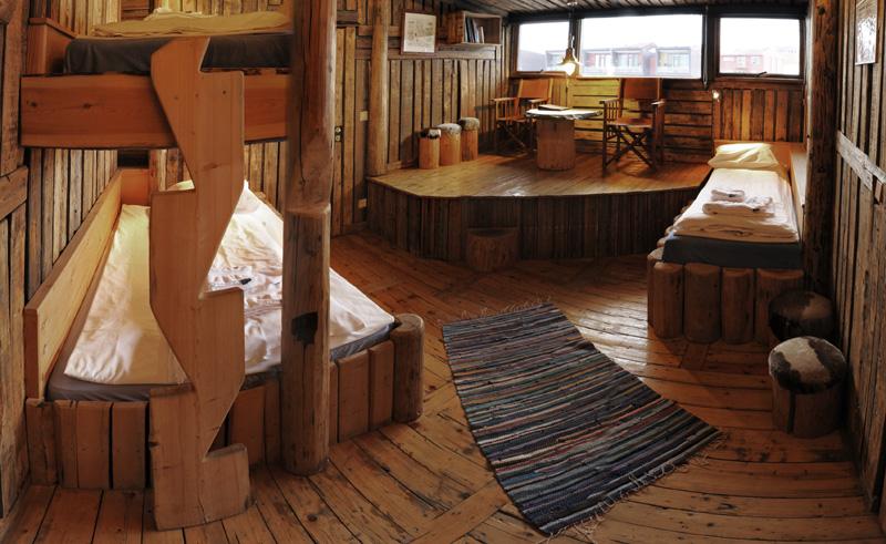 basecamp hotel longyearbyen interior