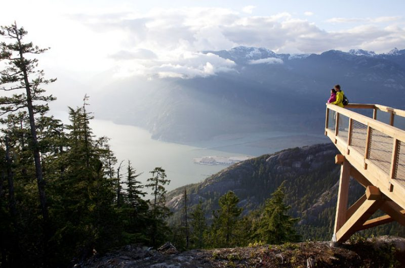 canada bc sea to sky lookout platform