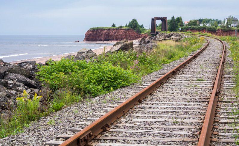 canada via rail the ocean route track