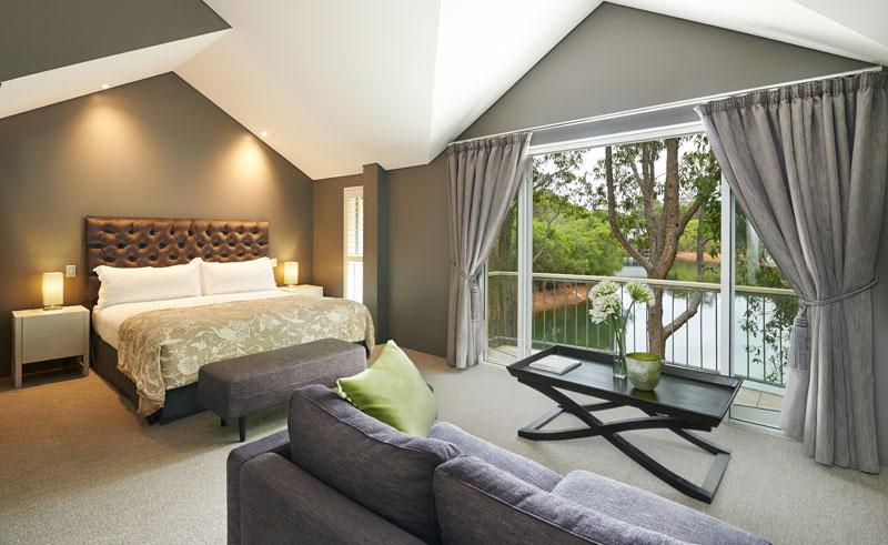 cape lodge margaret river bedroom lake view suite