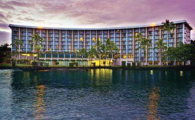 castle hilo hawaiian hotel exterior