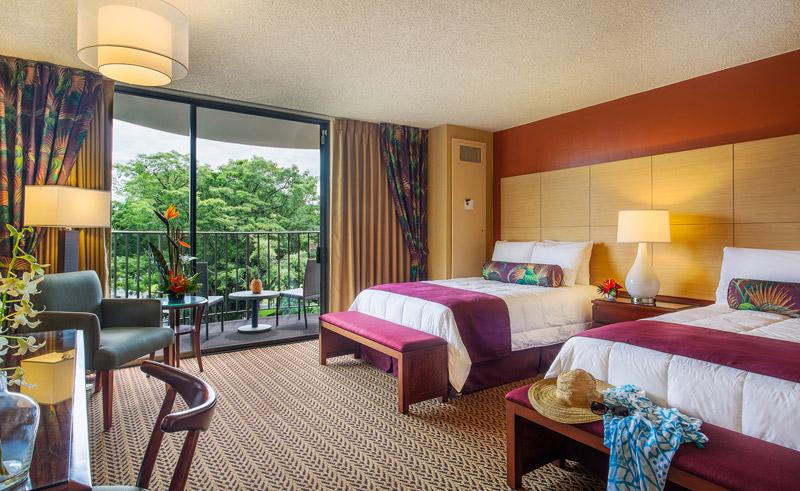 castle hilo hawaiian hotel twin balcony