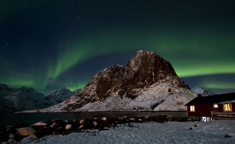 eliassen rorbuer northern lights