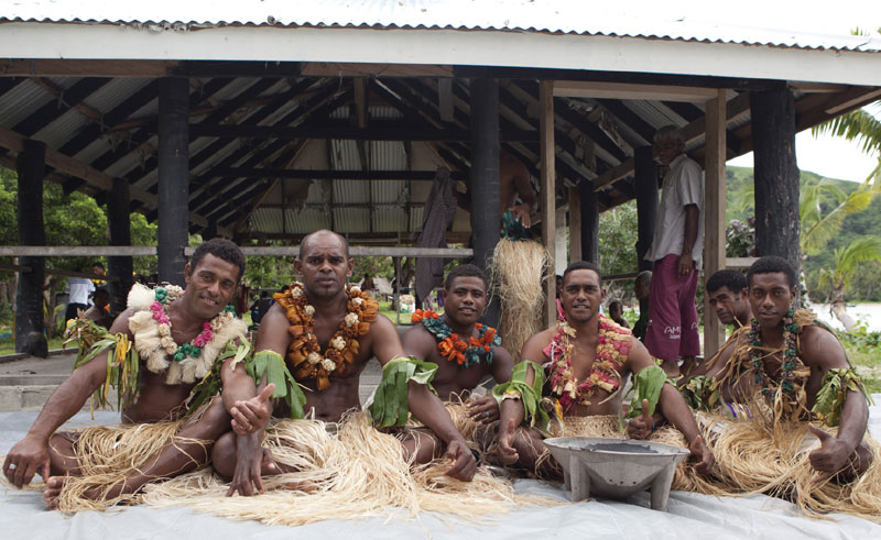 fiji traditional fjian village ccc