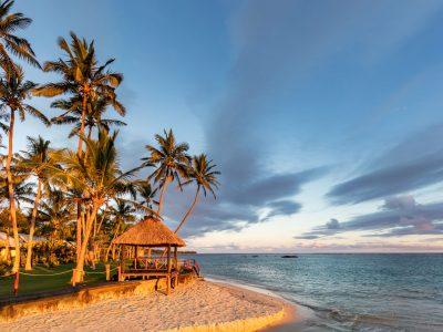 fiji viti levu beach hut istk