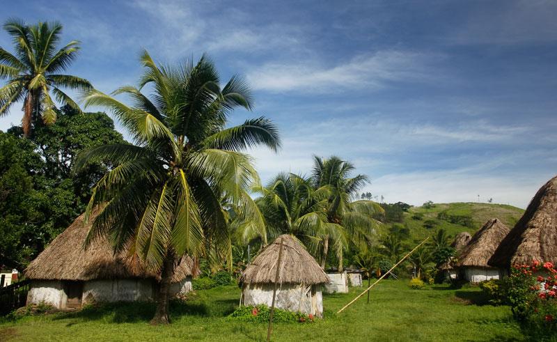 fiji viti levu navala traditional houses dollar