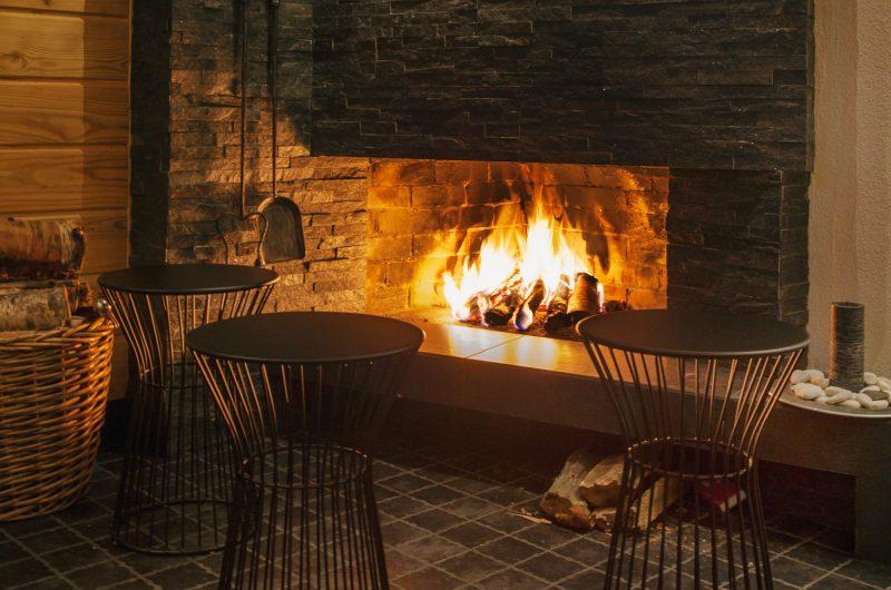 finland lapland beana lapnia fireplace blh