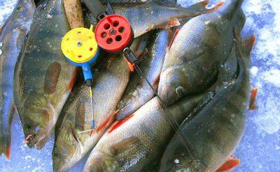 finnish lapland ruka ice fishing