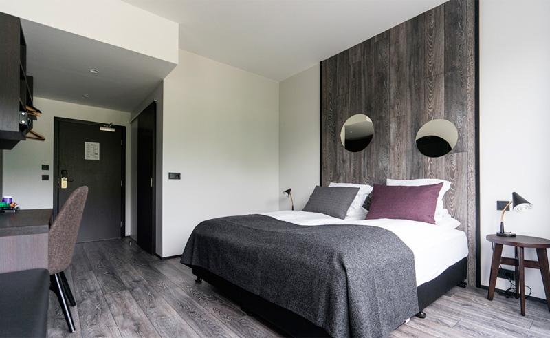 fosshotel husavik bedroom