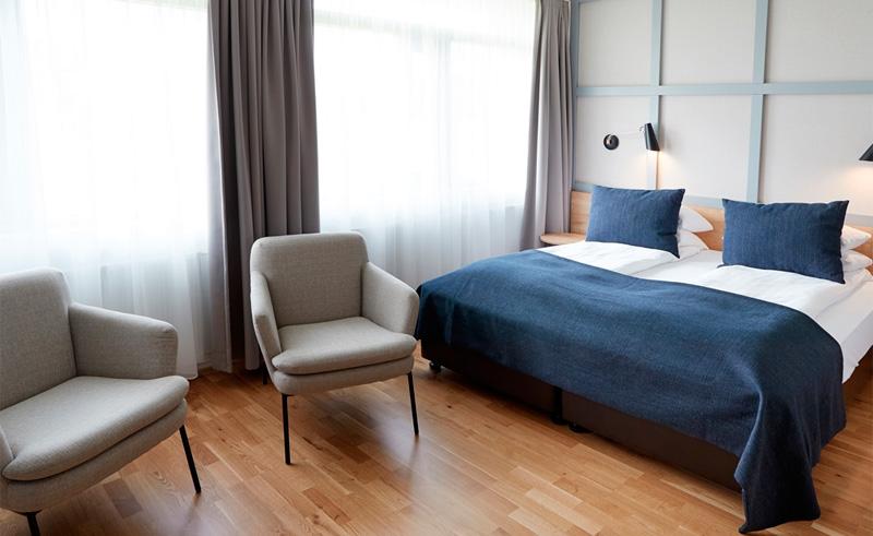 fosshotel reykholt superior bedroom