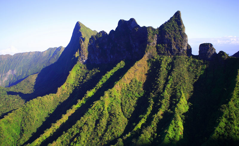 french polynesia tahiti mountainous interior tt