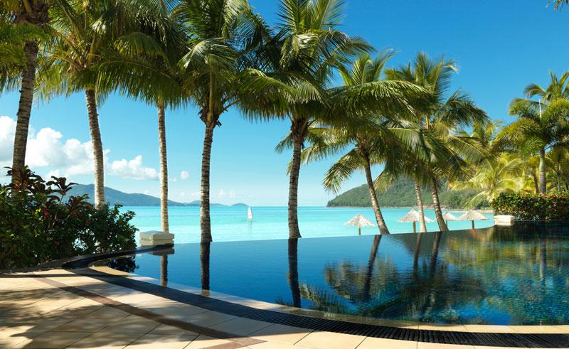 hamilton island beach club pool