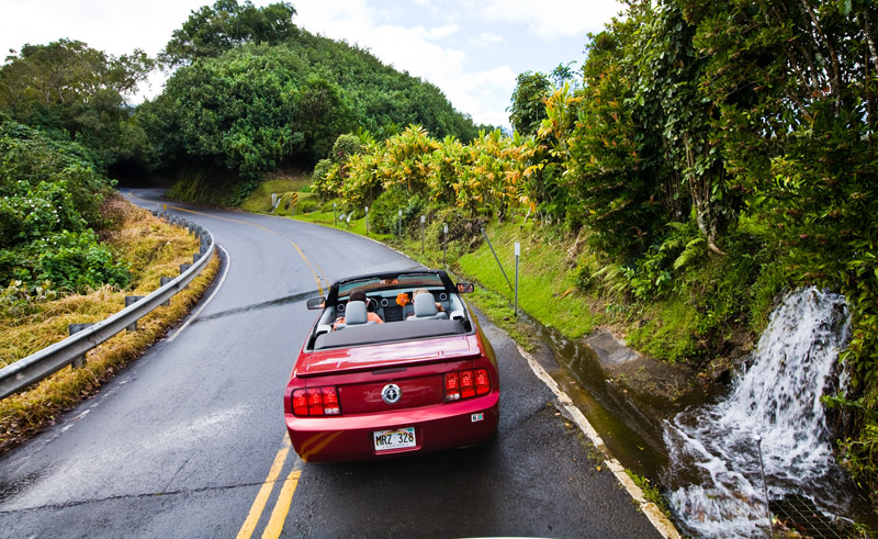 hawaii maui road to hana car htb