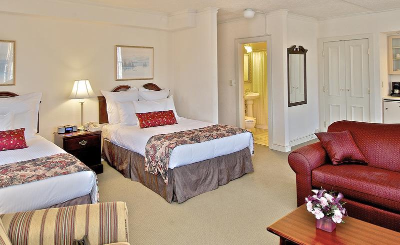 historic anchorage hotel bedroom