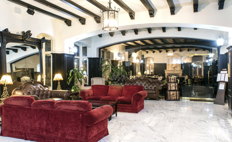 hotel clarendon qubec city lobby2
