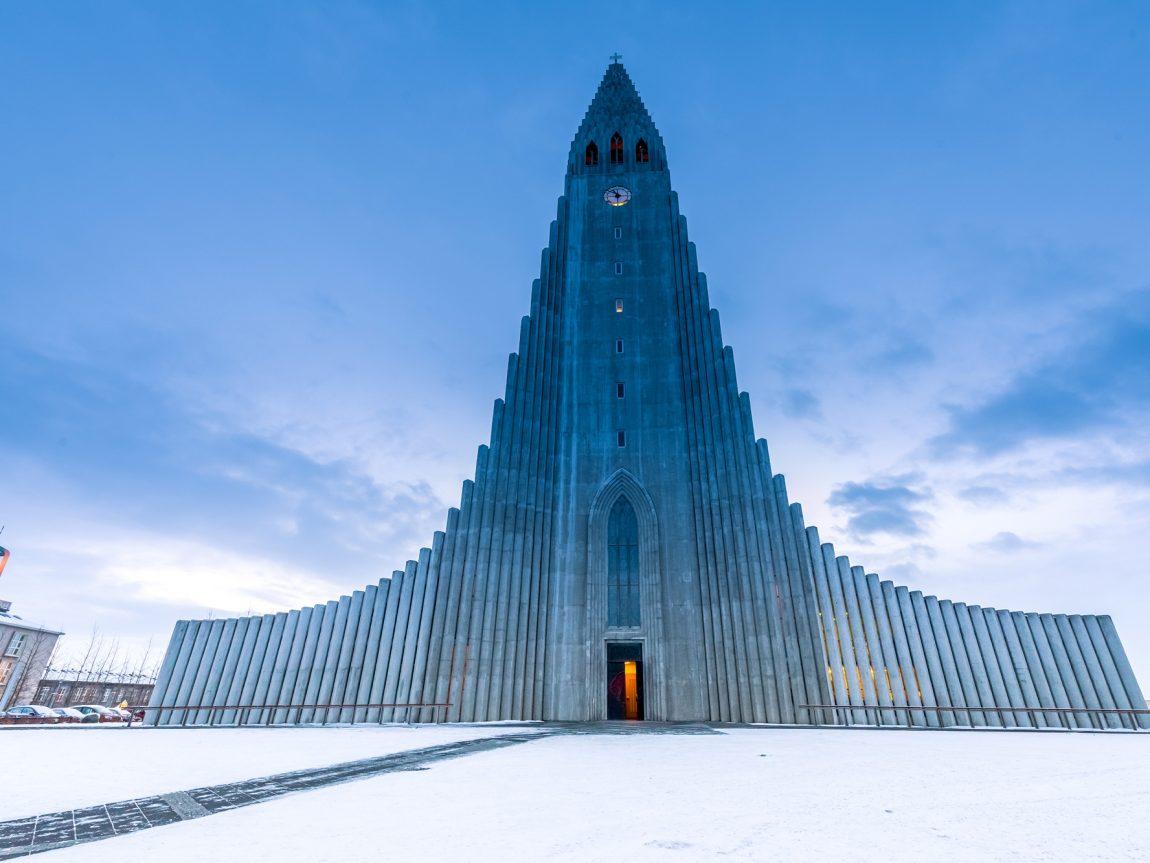 iceland reykjavik hallgrimskirkja winter istk