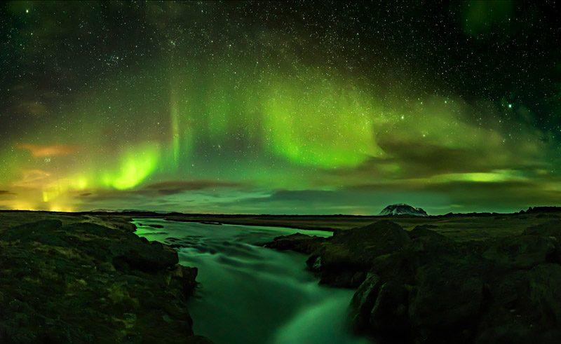 iceland reykjavik northern lights rss