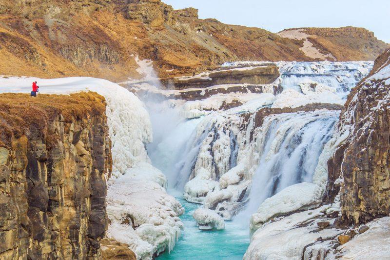 iceland south west gullfoss winter photographer istk