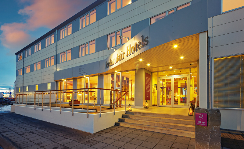 icelandair hotel herad exterior