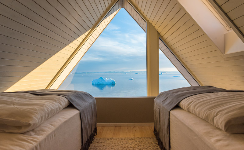 ilimanaq lodge cabin