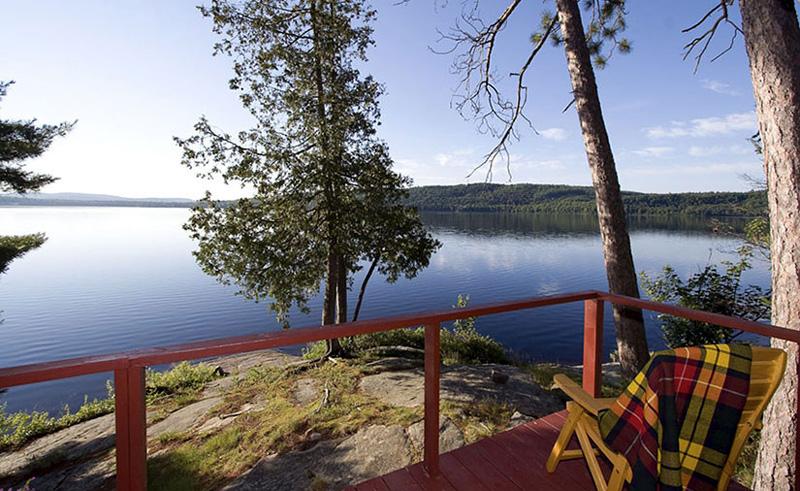 killarney lodge lake view from deck