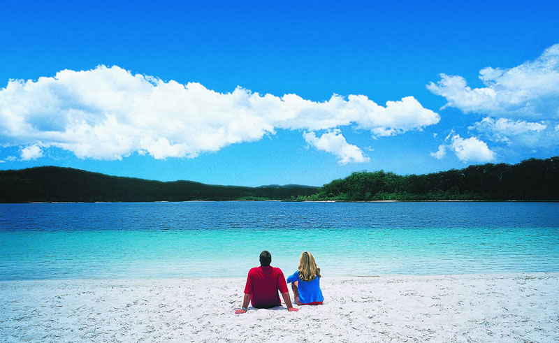kingfisher bay resort lake mckenzie fraser island