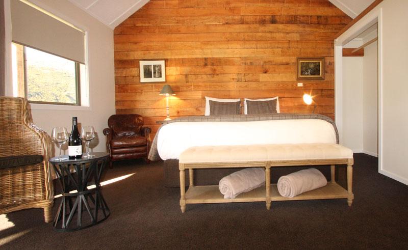 kinross cottages bedroom