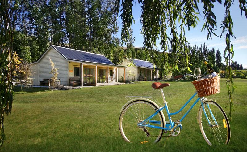 kinross cottages exterior