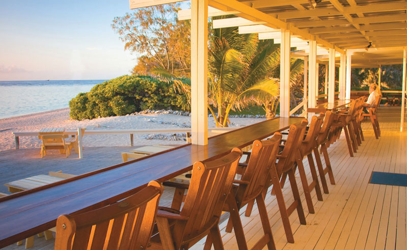 lady elliot island eco resort beach