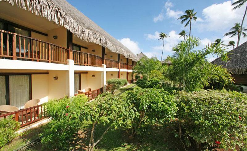 manava beach resort and spa garden room exterior