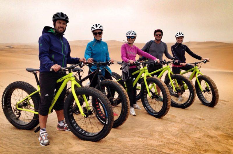 namibia swakopmund fat bike desert tour