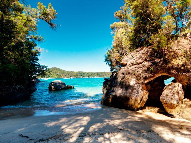 new zealand nelson abel tasman beach istk