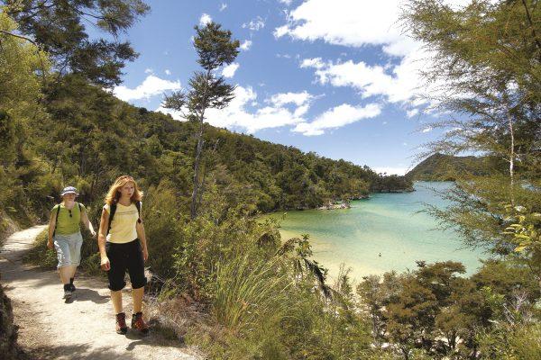 new zealand nelson abel tasman two hikers tnz