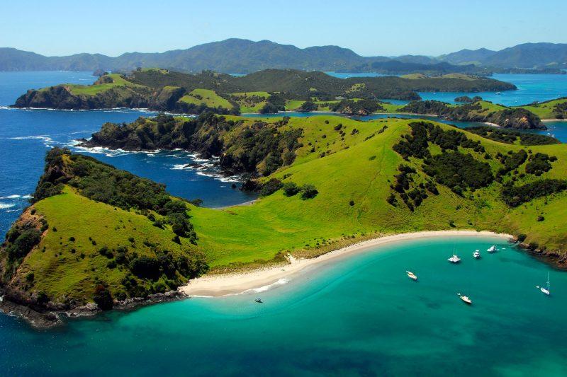 new zealand northland waewaetorea passage bay of islands adstk