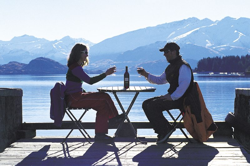 new zealand southern lakes lake wanaka wine couple lwt