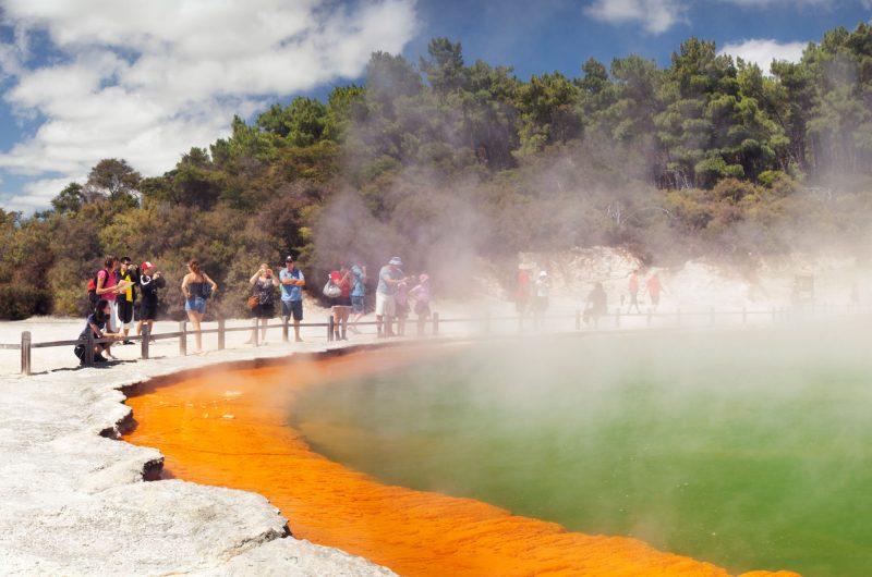 Wai O Tapu thermal area, Rotorua