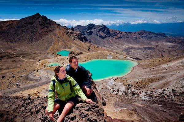 new zealand tongariro national park hikers tnz