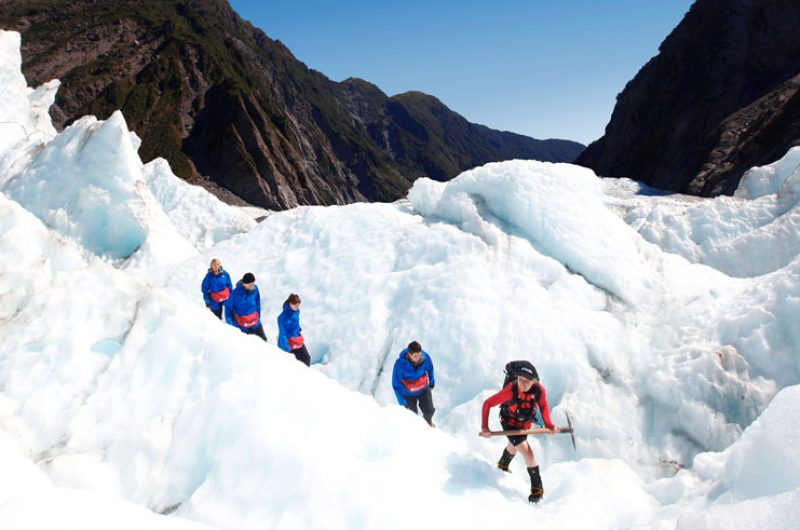 new zealand west coast franz josef glacier guided hike