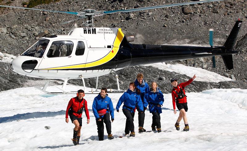 new zealand west coast franz josef glacier heli hike
