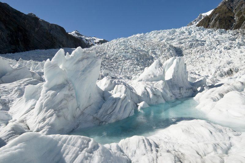 new zealand west coast franz josef glacier ice twc