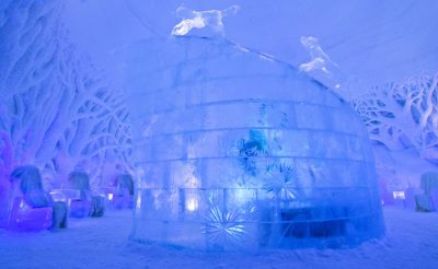 northern norway tromso ice dome interior dt