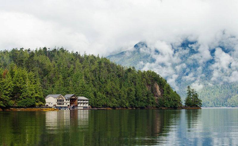 ocean house haida gwai exterior