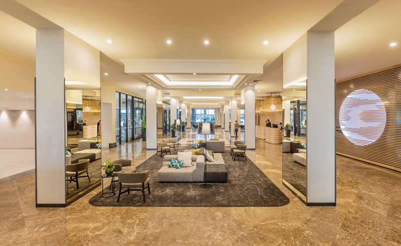 pan pacific perth lobby interior