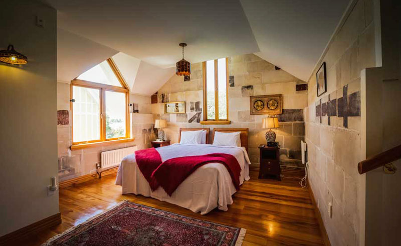 pen y bryn lodge bedroom