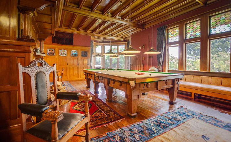 pen y bryn lodge billiards room