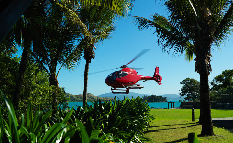 qualia hamilton island helicopter