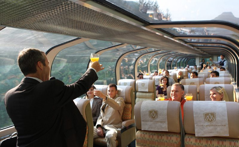 Gold Leaf carriage, Rocky Mountaineer