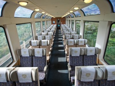 rocky mountaineer silver leaf service carriage