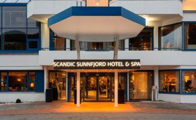 scandic sunnfjord hotel exterior