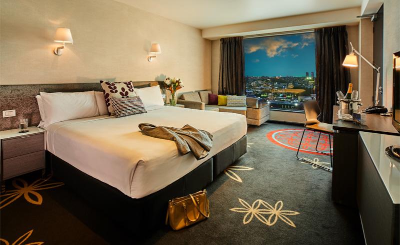 skycity hotel auckland bedroom